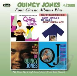 Jones, Quincy - 4 Classic Albums Plus CD Cover Art