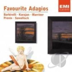 Encore EMI Classics - Favourite Adagios CD Cover Art