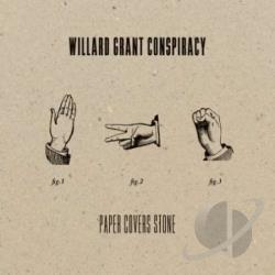 Willard Grant Conspiracy - Paper Covers Stone CD Cover Art