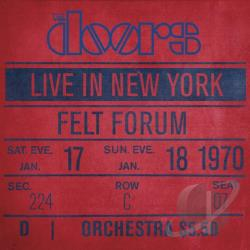 Doors - Live in New York CD Cover Art