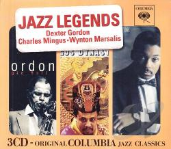 Jazz Legends CD Cover Art