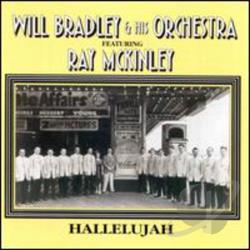 Bradley, Will - Hallelujah CD Cover Art