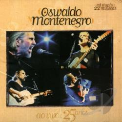 Montenegro, Oswaldo - Ao Vivo: 25 Anos CD Cover Art