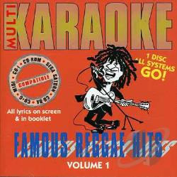 Multi Karaoke - Famous Reggae Hits CD Cover Art