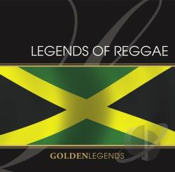 Golden Legends: Legends Of Reggae CD Cover Art