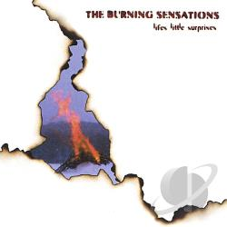 Burning Sensations - Life's Little Surprises CD Cover Art