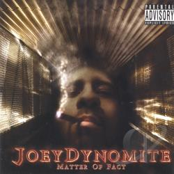 Dynomite, Joey - Matter of Fact CD Cover Art