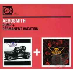 Aerosmith - Pump/Permanent Vacation CD Cover Art