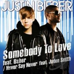 Bieber, Justin - Somebody To Love CD Cover Art