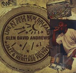Andrews, Glen David - Live at Jazzfest 2012 CD Cover Art