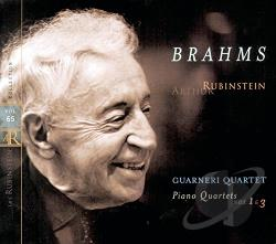 Brahms / Rubinstein - Rubinstein Collection, Vol. 65 CD Cover Art