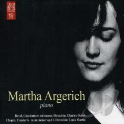 Argerich, Martha / Chopin / Ravel - Martha Argerich plays Ravel & Chopin CD Cover Art
