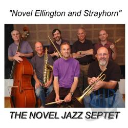 Novel Jazz Septet - Novel Ellington and Strayhorn CD Cover Art