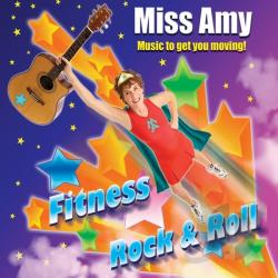 Miss Amy - Fitness Rock & Roll CD Cover Art