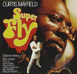 Mayfield, Curtis - Superfly CD Cover Art