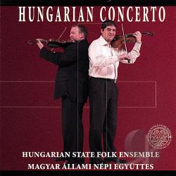 Hungarian State Folk Ensemble - Hungarian Concerto CD Cover Art