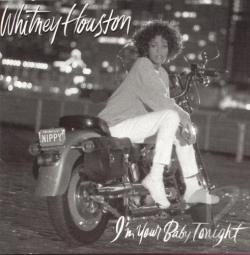 Houston, Whitney - I'm Your Baby Tonight CD Cover Art