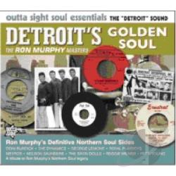 Detroit's Golden Soul: The Ron Murphy Masters CD Cover Art