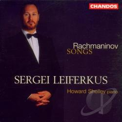 Leiferkus / Rachmaninoff / Shelley - Rachmaninov: Songs CD Cover Art