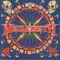 Megadeth - Capitol Punishment: The Megadeth Years CD Cover Art