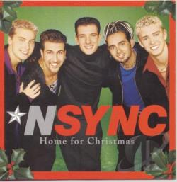 N Sync - Home For Christmas CD Cover Art