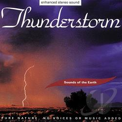 Sounds Of The Earth / Various Artists - Thunderstorm Sounds Of The Earth CD Cover Art
