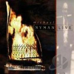 Nyman, Michael - Michael Nyman: Live CD Cover Art