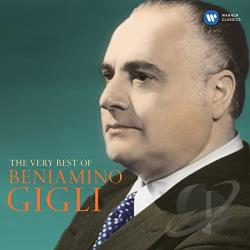 Gigli, Beniamino - Very Best of Beniamino Gigli CD Cover Art