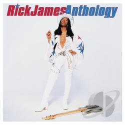 James, Rick - Anthology CD Cover Art