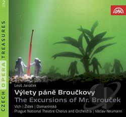 Berman / Janacek / Koci / Vich / Votava / Zidek - Leos Janacek: The Excursions of Mr. Broucek CD Cover Art