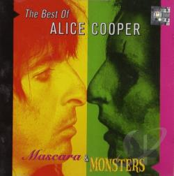 Cooper, Alice - Mascara & Monsters: The Best of Alice Cooper CD Cover Art
