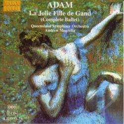 Adam / Mogrelia - Jolie Fille De Gand CD Cover Art