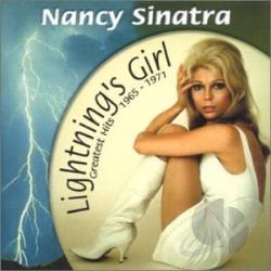Sinatra, Nancy - Lightning's Girl: Greatest Hits 1965-1971 CD Cover Art