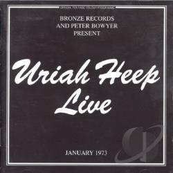 Uriah Heep - Live CD Cover Art