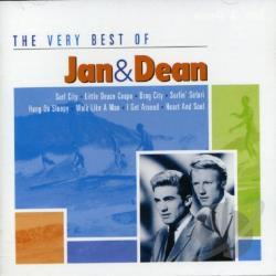 Jan & Dean - Very Best of Jan & Dean CD Cover Art