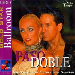 Doble, Paso - Gold Star Ballroom - Paso Doble CD Cover Art