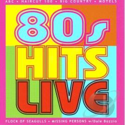 80's Hits Live! CD Cover Art