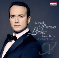Behle / Schnyder / Strauss - Richard Strauss: Lieder CD Cover Art