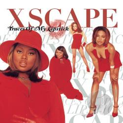 Xscape - Traces of My Lipstick CD Cover Art