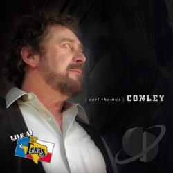 Conley, Earl Thomas - Live at Billy Bob's Texas CD Cover Art