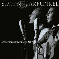 Simon & Garfunkel - Live from New York City, 1967 CD Cover Art