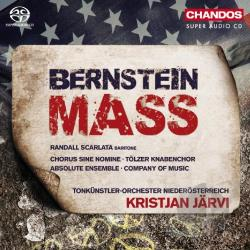 Absolute Ensemble / Bernstein / Jarvi / Scarlata - Leonard Bernstein: Mass CD Cover Art