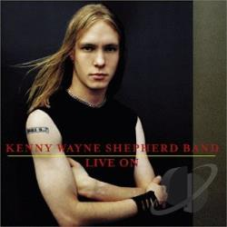 Shepherd, Kenny Wayne - Live On CD Cover Art
