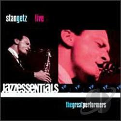 Getz, Stan - Live CD Cover Art