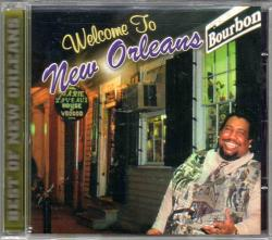 Welcome to New Orleans CD Cover Art