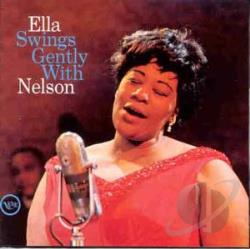 Fitzgerald, Ella - Ella Swings Gently with Nelson CD Cover Art
