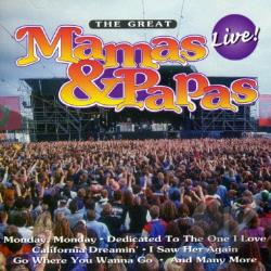 Mama's & The Papa's - Great: Live CD Cover Art