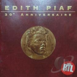 Piaf, Edith - 30th Anniversaire CD Cover Art