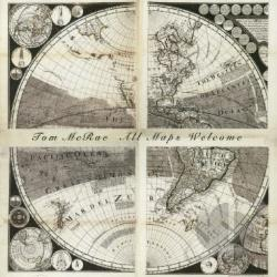 Mcrae, Tom - All Maps Welcome CD Cover Art