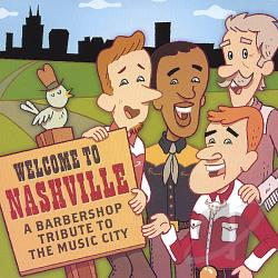 Welcome To Nashville CD Cover Art